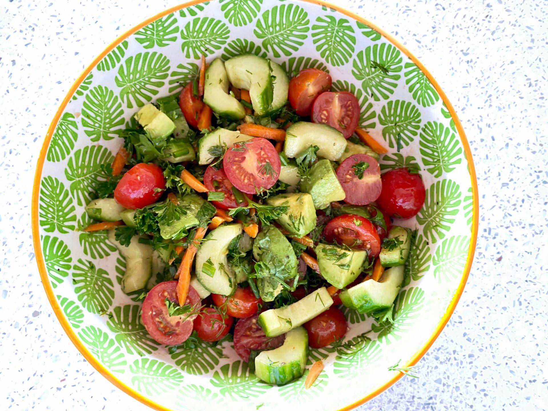 イタリアンサラダレシピ1