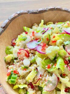 美味しいキヌアサラダ